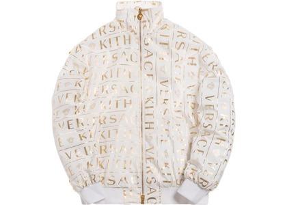 Kith x Versace Monogram Track Jacket Whiteの写真