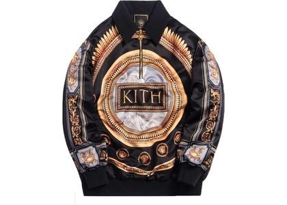 Kith x Versace Quarter Zip Pullover Grecoの写真