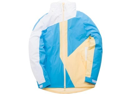 Kith Madison Jacket Sky Blue/Pale Yellow/Whiteの写真