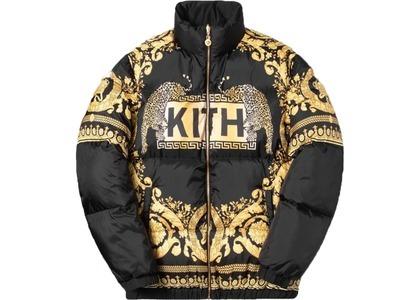 Kith x Versace Reversible Down Jacket Blackの写真