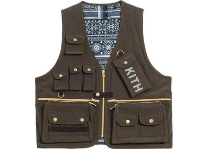 Kith Tactical Vest Black Oliveの写真