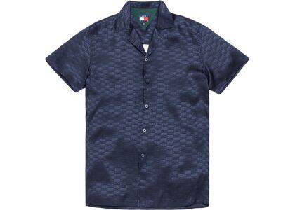 Kith x Tommy Hilfiger Satin Camp Shirt Navyの写真