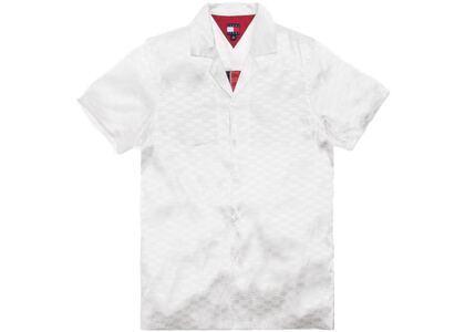 Kith x Tommy Hilfiger Satin Camp Shirt Whiteの写真