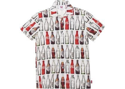 Kith x Coca-Cola Bottles Camp Button Up Whiteの写真