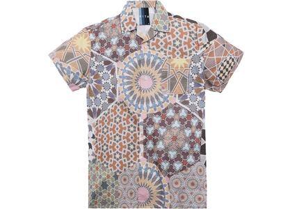 Kith Moroccan Tile Print Seersucker Camp Shirt Multiの写真