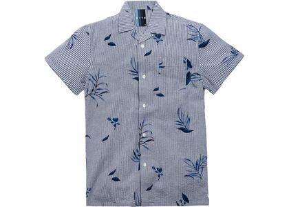 Kith Floral Seersucker Camp Shirt Blueの写真