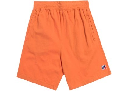 Kith x Russell Athletic Classic Shorts Golden Poppyの写真
