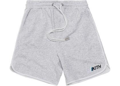 Kith Knit Jordan Sweatshort Light Heather Greyの写真