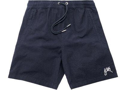 Kith Hardaway Seersucker Shorts Navyの写真