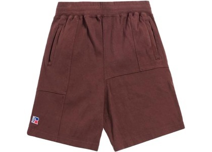 Kith x Russell Athletic Reverse Shorts Decadent Chocolateの写真