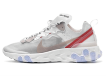 NIKE REACT ELEMENT 87 WHITEの写真