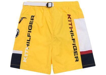 Kith x Tommy Hilfiger Solid Swim Trunk Yellowの写真