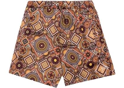 Kith Hardaway Sain Moroccan Geometric Print Shorts Tumericの写真
