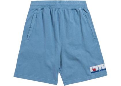 Kith x Russell Athletic Varsity Logo Shorts Blue Shadowの写真