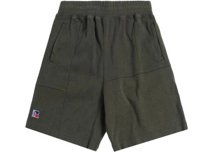 Kith x Russell Athletic Reverse Shorts Climbing Ivyの写真