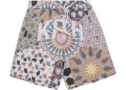 Kith Moroccan Tile Print Seersucker Shorts Multiの写真