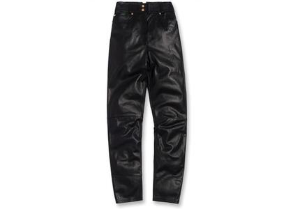 Kith x Versace Women's Leather Pant Blackの写真