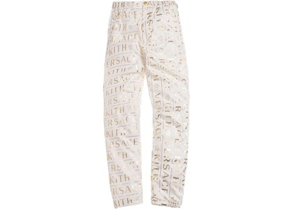 Kith x Versace Monogram Track Pant Whiteの写真