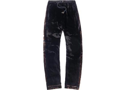 Kith x Versace Velour Track Pant Blackの写真