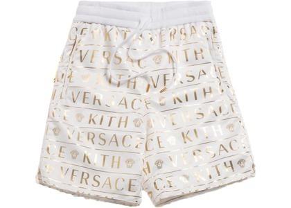 Kith x Versace Monogram Nylon Short Whiteの写真
