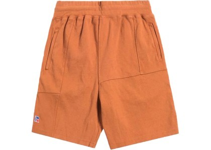 Kith x Russell Athletic Reverse Shorts Amber Brownの写真
