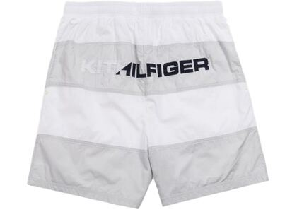 Kith x Tommy Hilfiger Woven Stripe Short White/Greyの写真