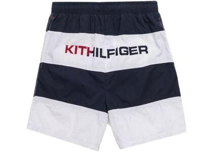 Kith x Tommy Hilfiger Woven Stripe Short Navy/Whiteの写真