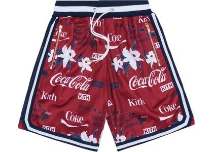 Kith x Coca-Cola x  Mitchell & Ness Hawaii Shorts Redの写真