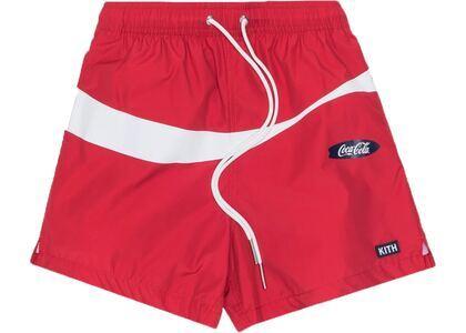 Kith x Coca-Cola Convertible Swim Shorts Redの写真