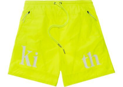 Kith Turbo Nylon Shorts Citronの写真