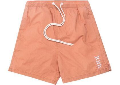 Kith Convertible Swim Shorts Terra Cottaの写真