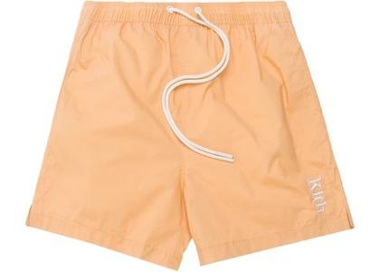 Kith Convertible Swim Shorts Burnt Yellowの写真