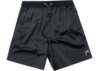 Kith Hardaway Satin Shorts Blackの写真