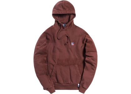 Kith x Russell Athletic Reverse Hoodie Decadent Chocolateの写真