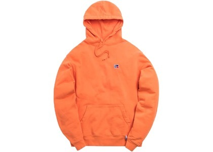 Kith x Russell Athletic Classic Hoodie Golden Poppyの写真