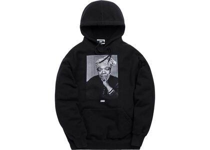 Kith Maya Angelou Hoodie Blackの写真