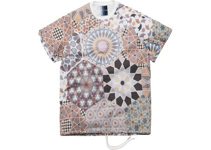 Kith Howard Moroccan Tile Print Seersucker Tee Multiの写真