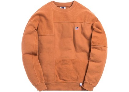Kith x Russell Athletic Reverse Crewneck Amber Brownの写真