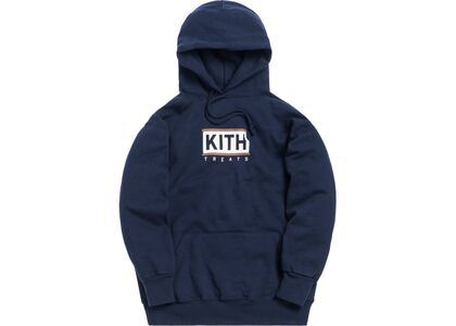 Kith Treats Ice Cream Sandwich Hoodie Navyの写真