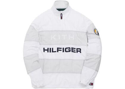 Kith x Tommy Hilfiger Stripe Woven Popover White/Greyの写真