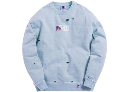 Kith x Russell Athletic Vintage Crewneck Chambray Blueの写真