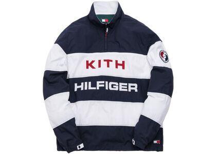 Kith x Tommy Hilfiger Stripe Woven Popover Navy/Whiteの写真