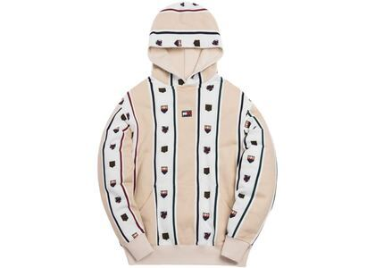 Kith x Tommy Hilfiger Stripe Hoodie Cream/Whiteの写真