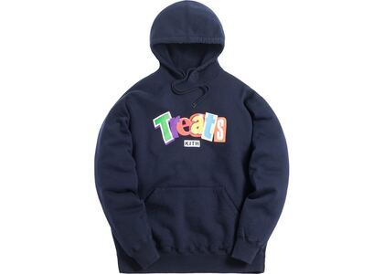 Kith Treats Cereal Day Hoodie Navyの写真