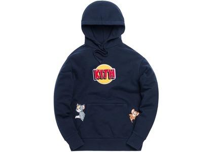 Kith x Tom & Jerry Hoodie Navyの写真