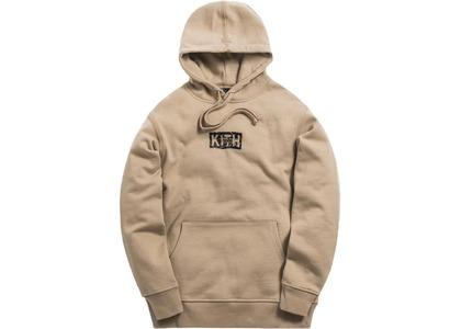 Kith Splintered Logo Hoodie Feather Greyの写真