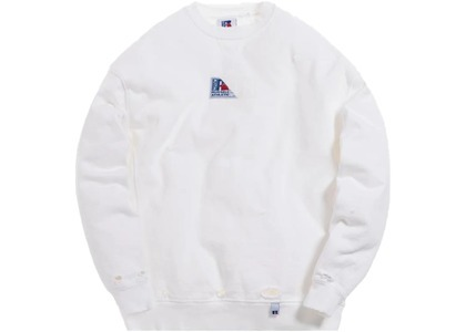 Kith x Russell Athletic Vintage Crewneck Bright Whiteの写真