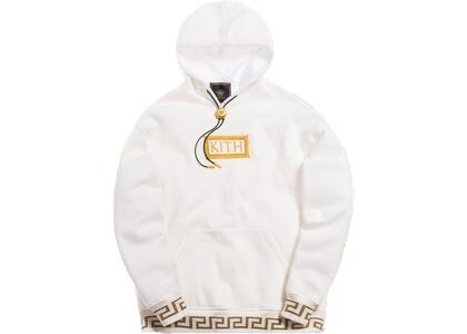 Kith x Versace Bolo Hoodie Off-Whiteの写真