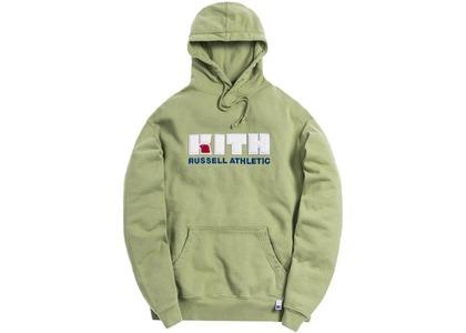 Kith x Russell Athletic Varsity Logo Hoodie Mistletoeの写真