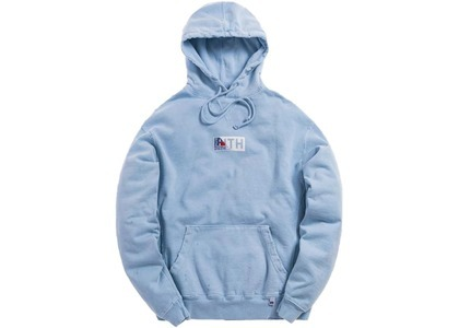 Kith x Russell Athletic Vintage Hoodie Chambray Blueの写真